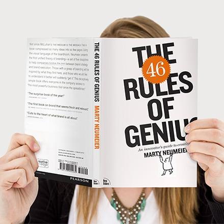 rules of genius book launch